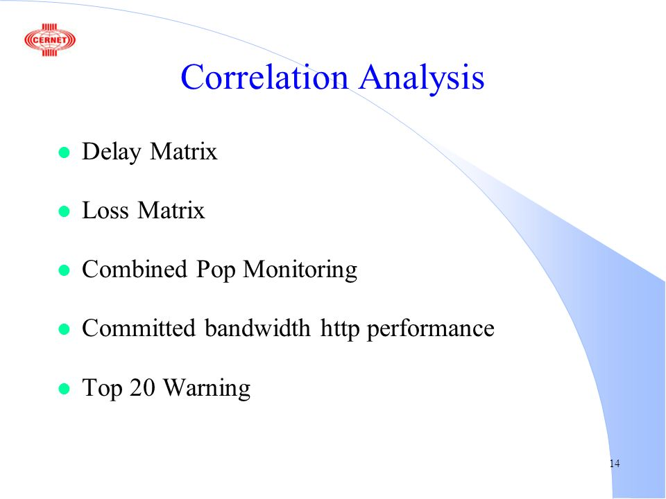 1 Distributed Monitoring CERNET's experience Xing Li ppt