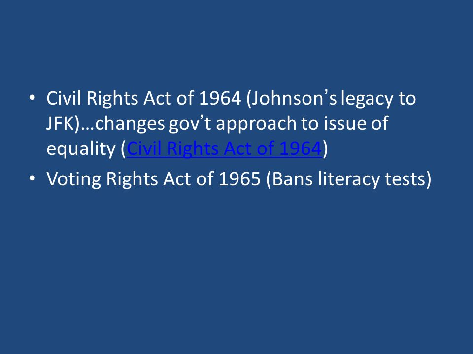 Warm Up Literacy Test Chapter 5 Civil Rights Civil Rights V