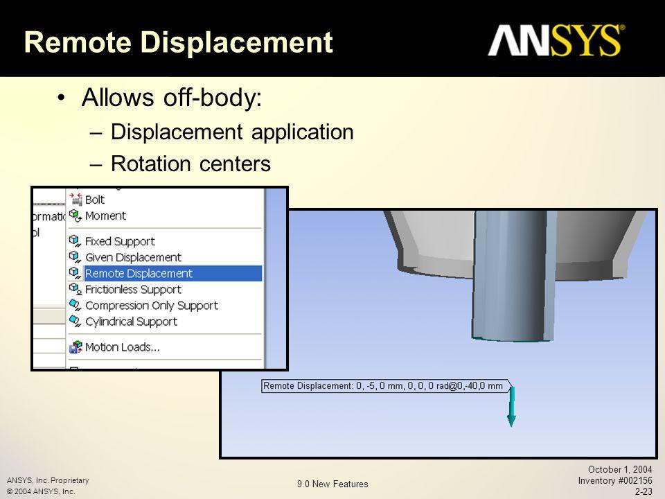 ANSYS, Inc  Proprietary © 2004 ANSYS, Inc  Chapter 2 Workbench v ppt