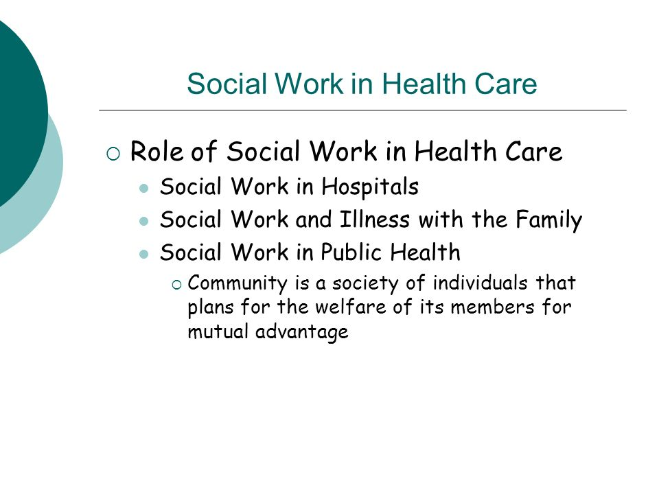 role of health and social care worker essay Unit 5 working in partnership in health and social care this is a solution of working in partnership in health and social care assignment, given east end computing college, for hnd health and social care.