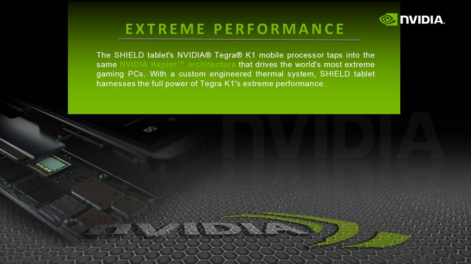 Tegra K1 is the first-ever console-class mobile processor