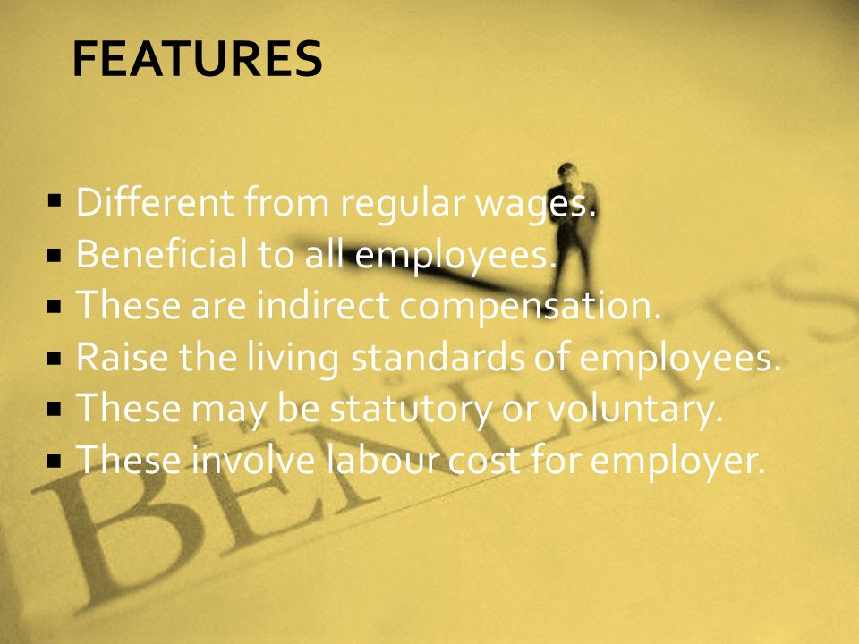 DDifferent from regular wages. BBeneficial to all employees.