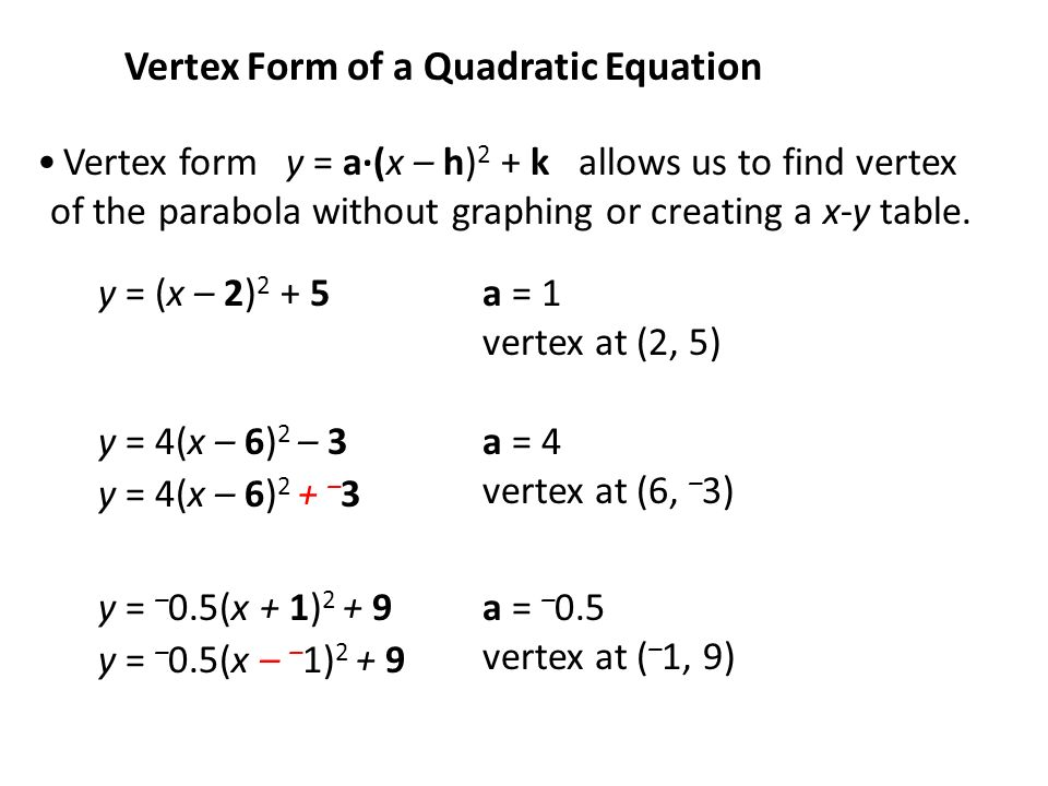 expanded form quadratic equation  Warm Up Expand the following pairs of binomials: 17.(x-17)(17x+ ...