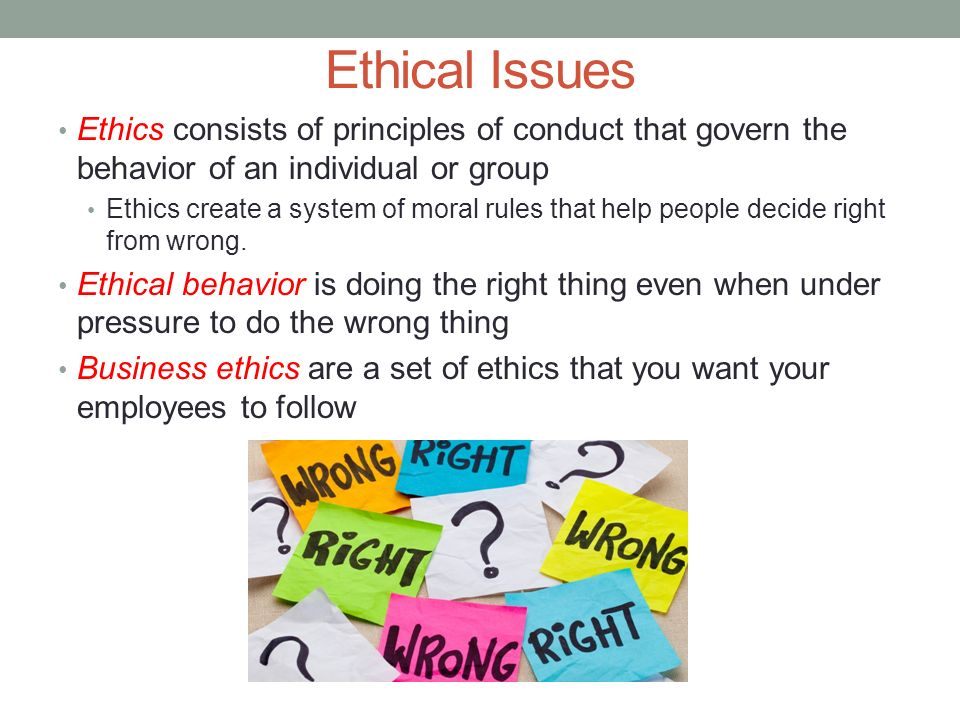 HOSPITALITY & TOURISM 5 02A Interpret the nature of business ethics