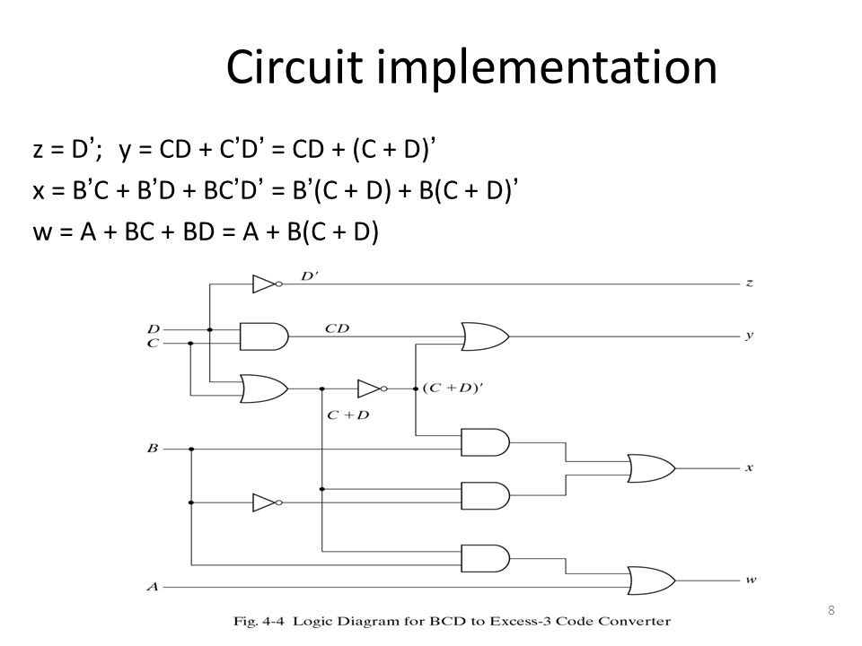 1 chapter 4 combinational logic logic circuits for digital systems rh slideplayer com Latching Relay Circuit Diagram Latching Relay Circuit Diagram