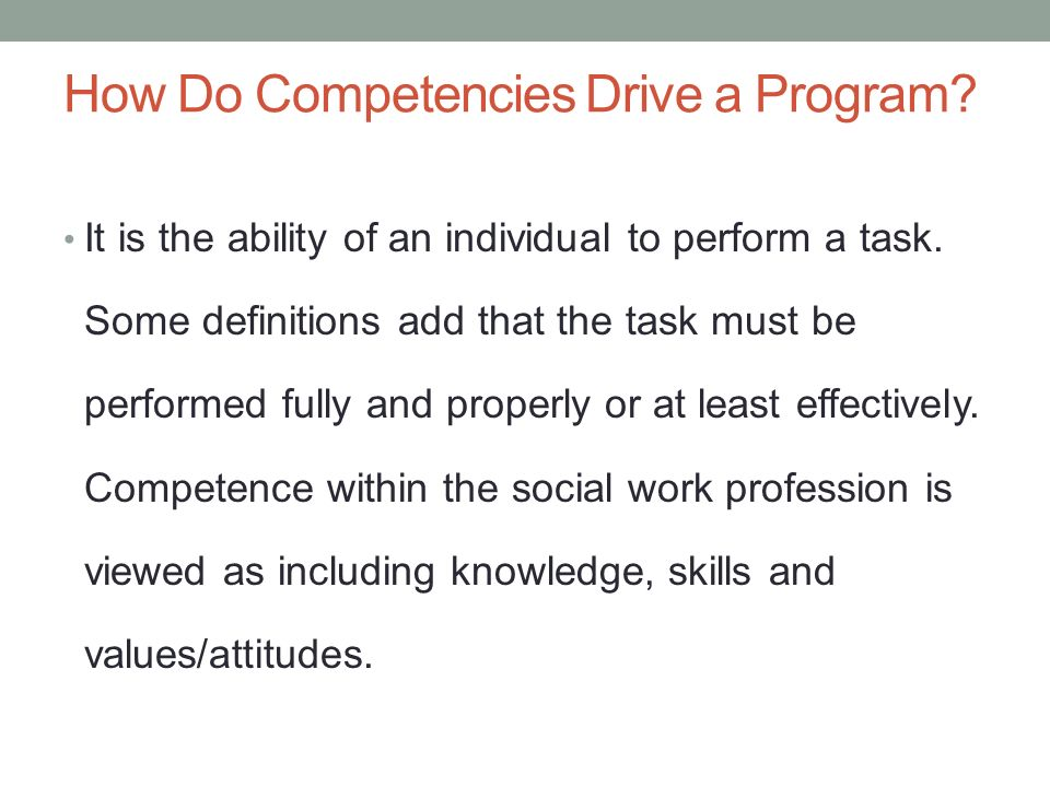A PATHWAY FROM COURSE COMPETENCIES TO LESSON PLANS