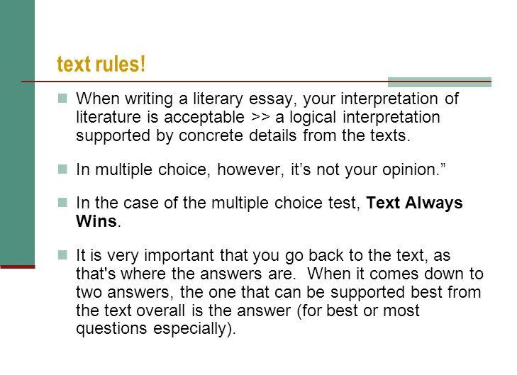 "English Language Arts 10-2 Final Exam Preparation – ""Part B"