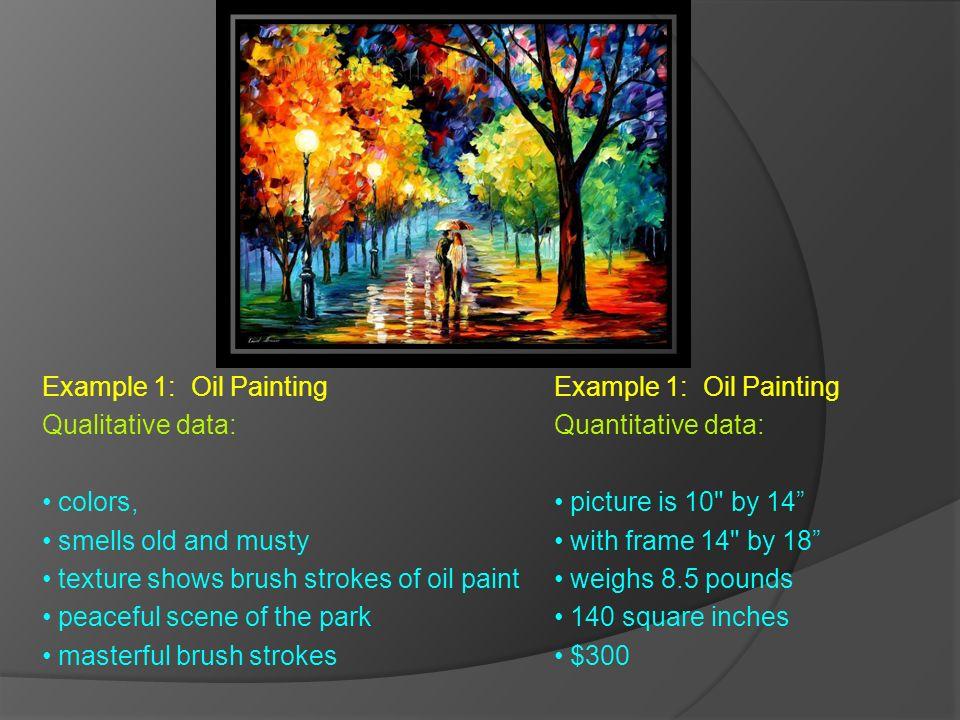 Qualitative vs Quantitative Data Qualitative Data Overview