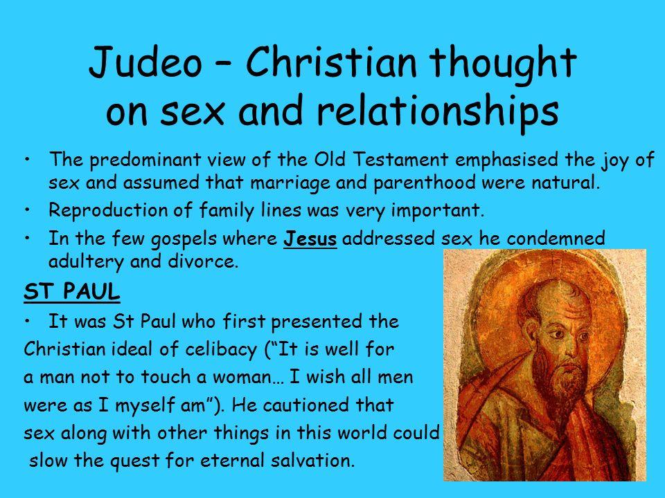 Old testaments views on marital sex