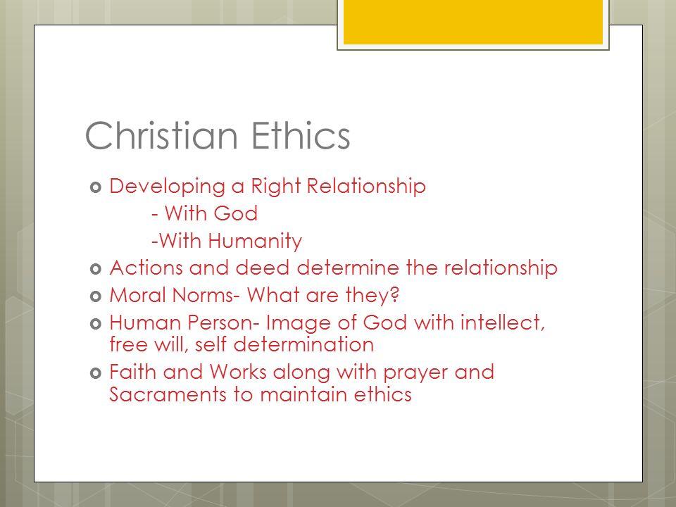 Core Ethical Teachings Christianity Year 11 SOR  Key Word