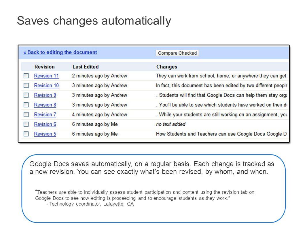 Google Docs An Overview for Educators  Google Docs Google Docs is a