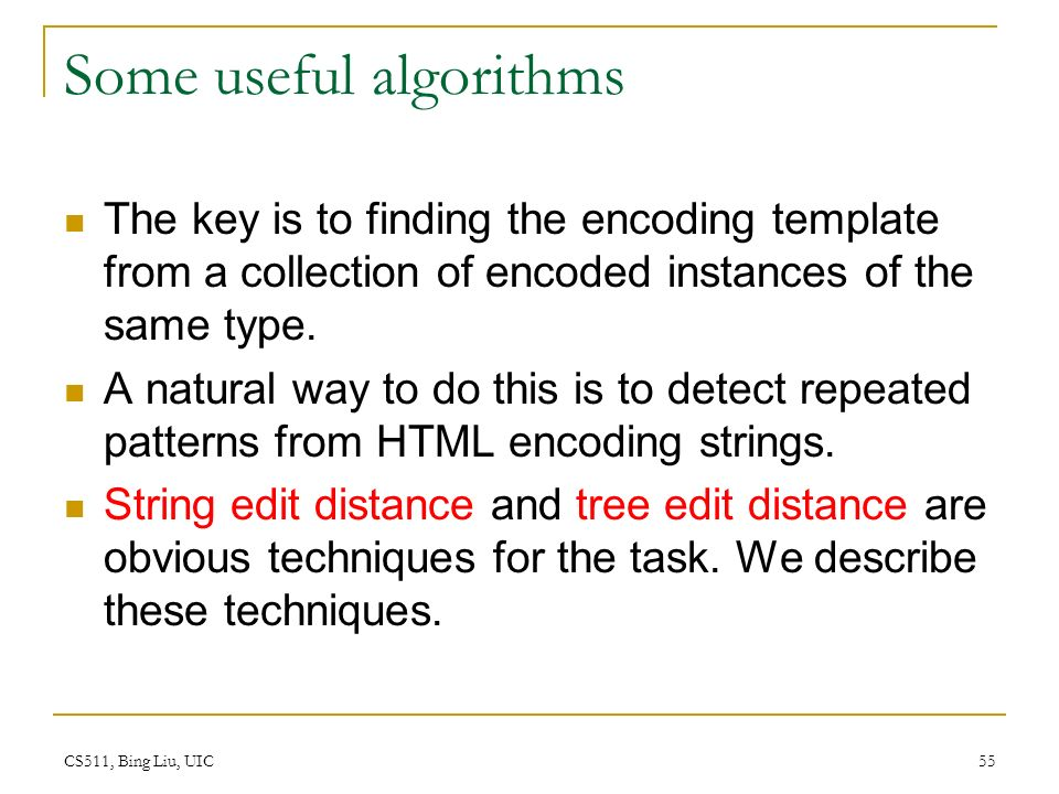Chapter 9: Structured Data Extraction Supervised and