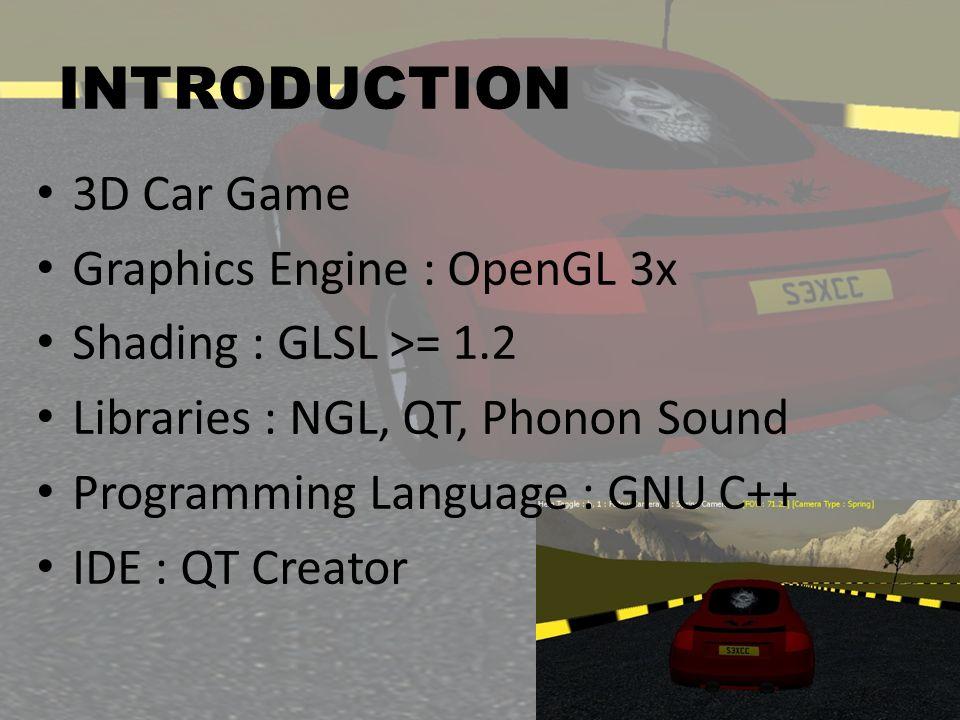 3D CAR GAME Group Project MSc CAVE 2011 Ramalingam Vignesh