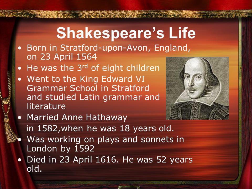 Shakespeare presentation youtube.