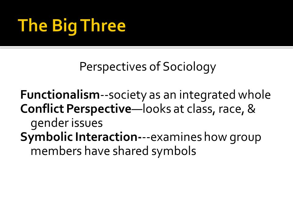 Sociology Unit 1 Mrs Gosnell Perception How Your Brain