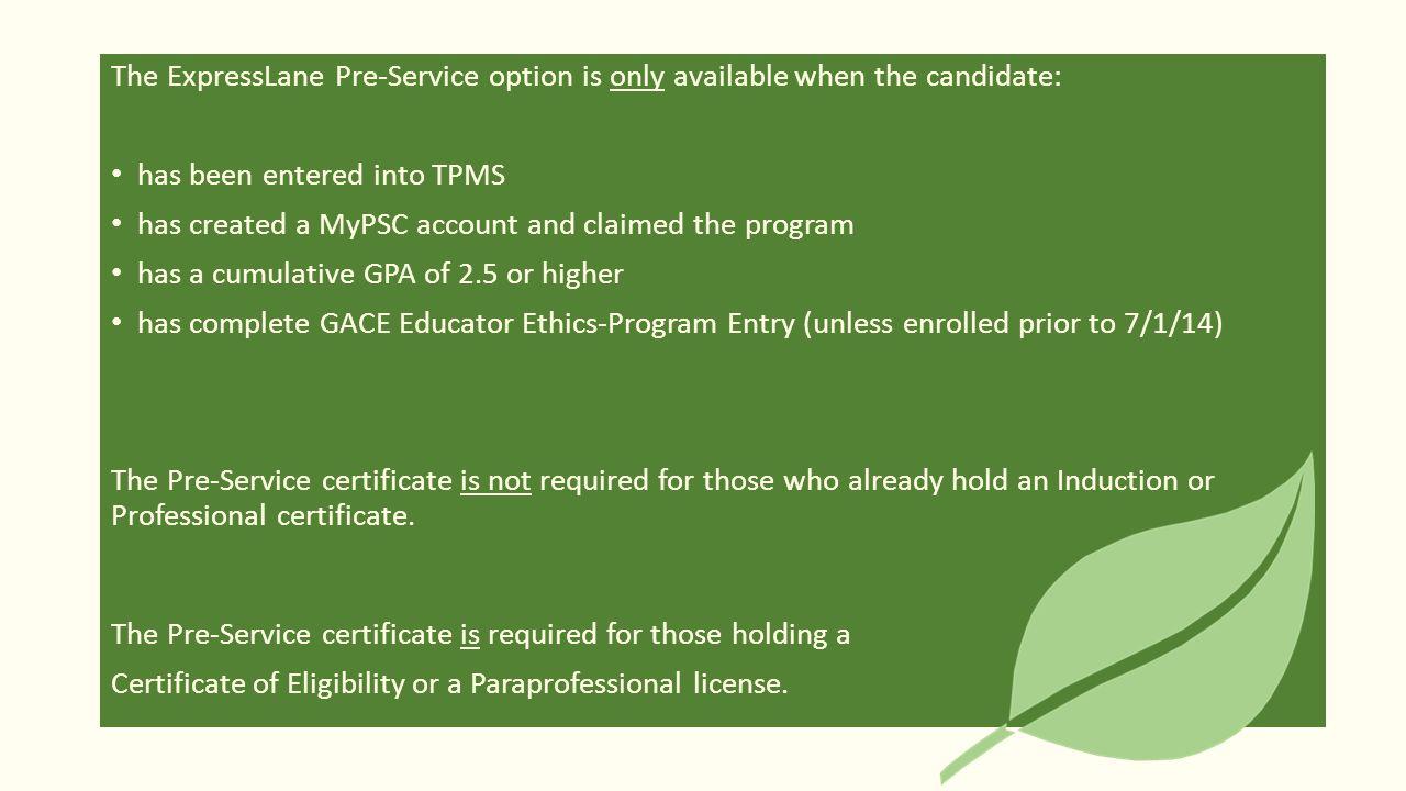 Georgia Professional Standards Commission Understanding Current