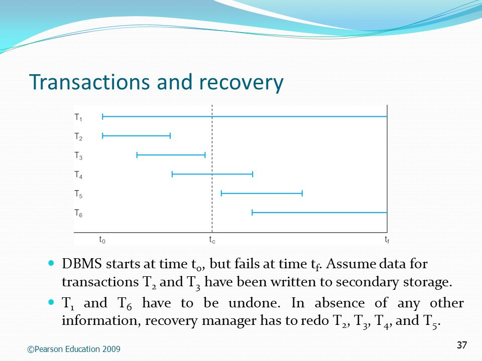 Chapter 9 transaction management and concurrency control database.
