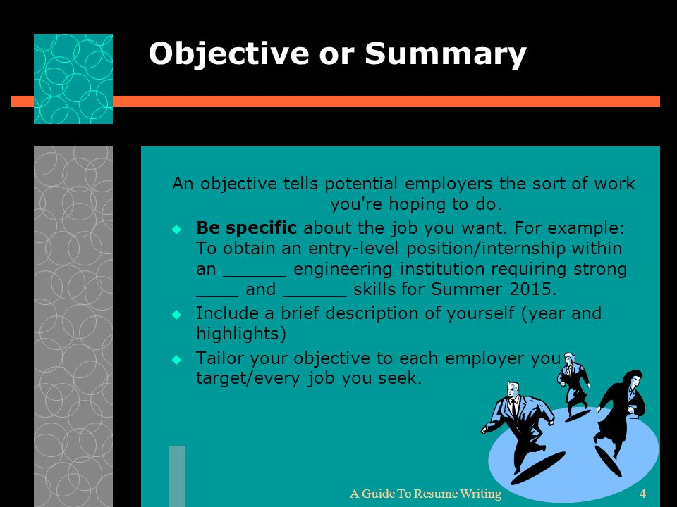 1 your resume cover letter and how to present yourself ppt download