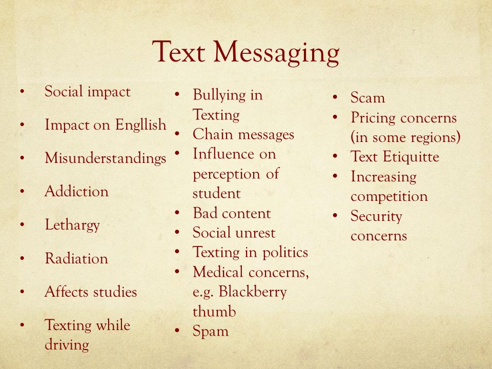 pros and cons of texting and driving