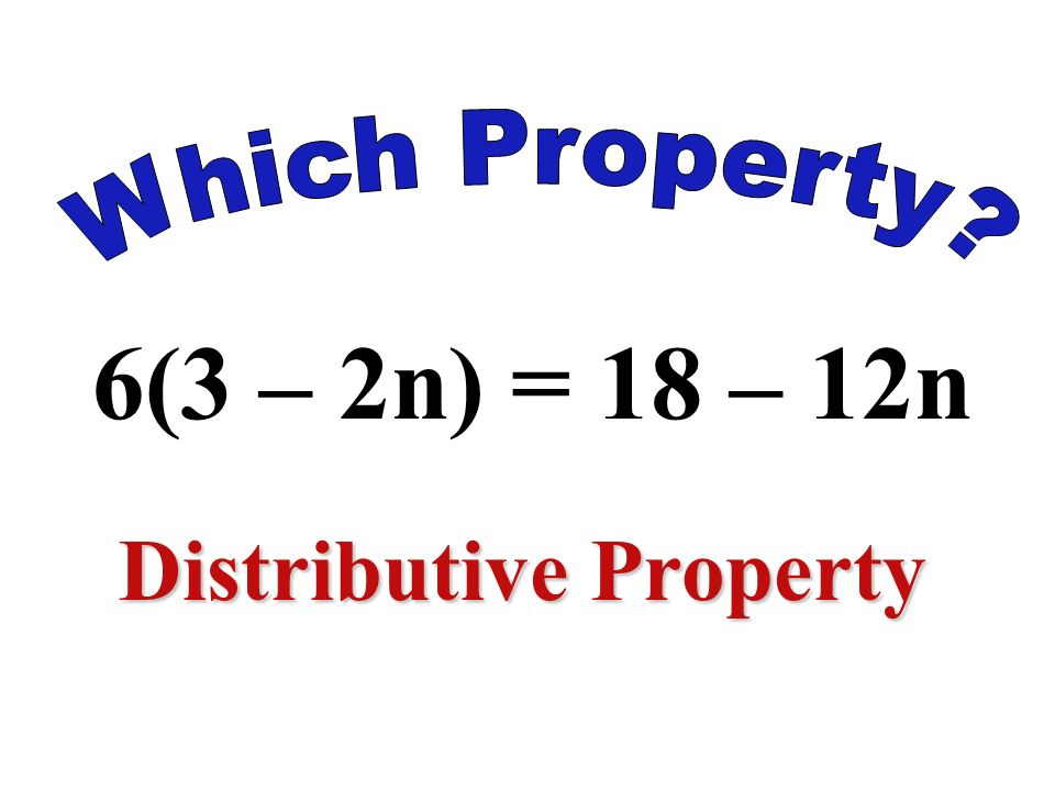 -8(4) = 4(-8) Commutative Property of Multiplication
