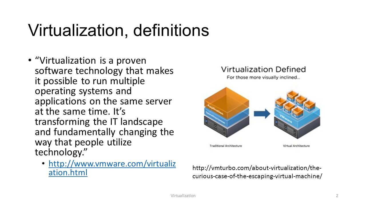 virtualization a brief introduction virtualization1. - ppt download