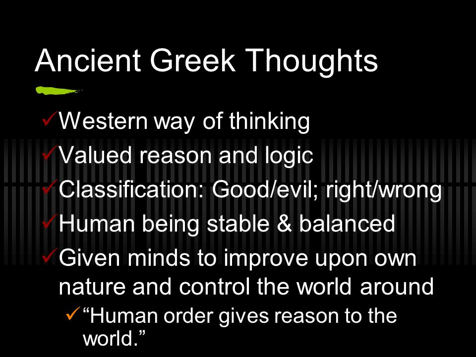 eastern vs western philosophical thinking