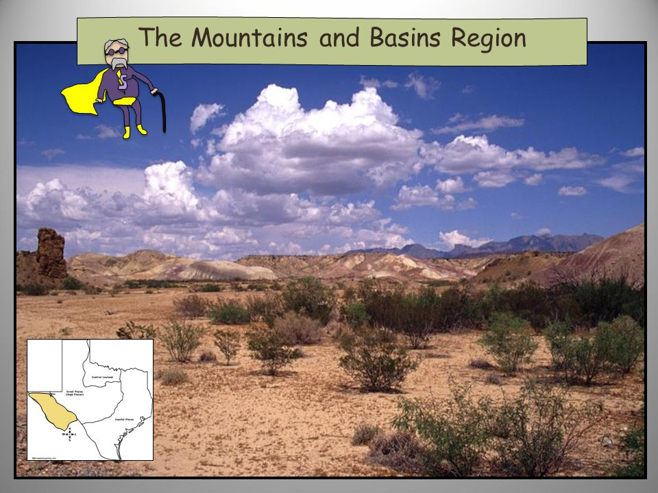 The Mountains and Basins Region