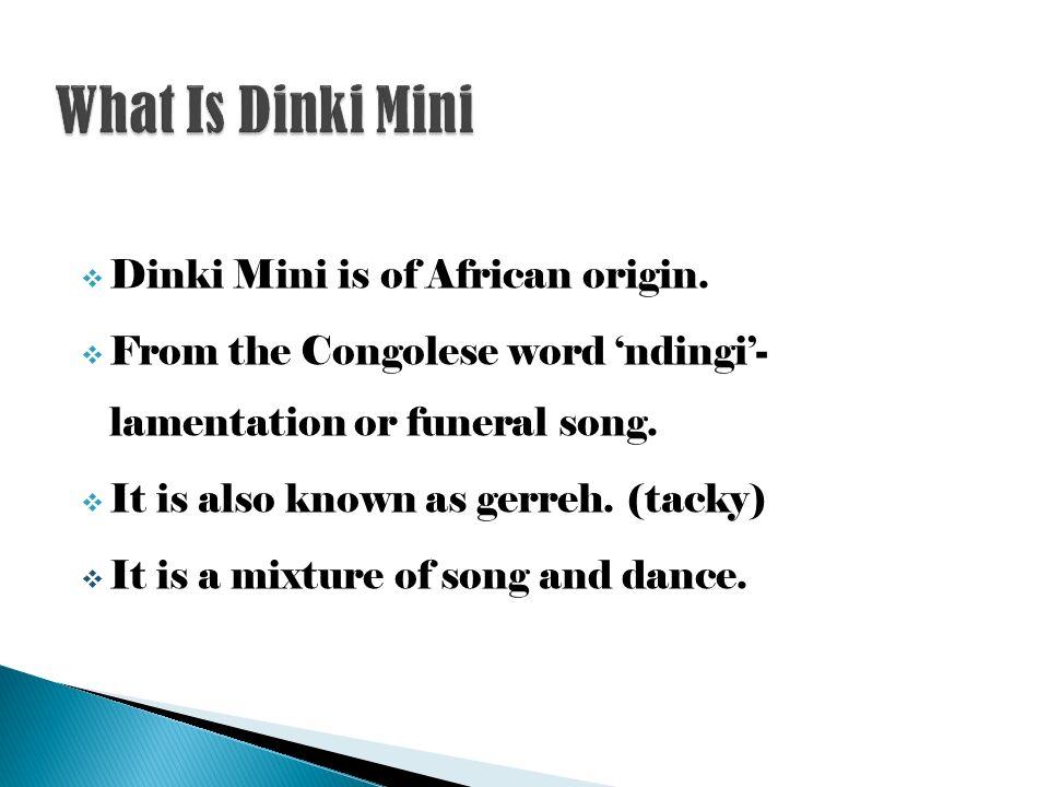 dinki mini songs lyrics