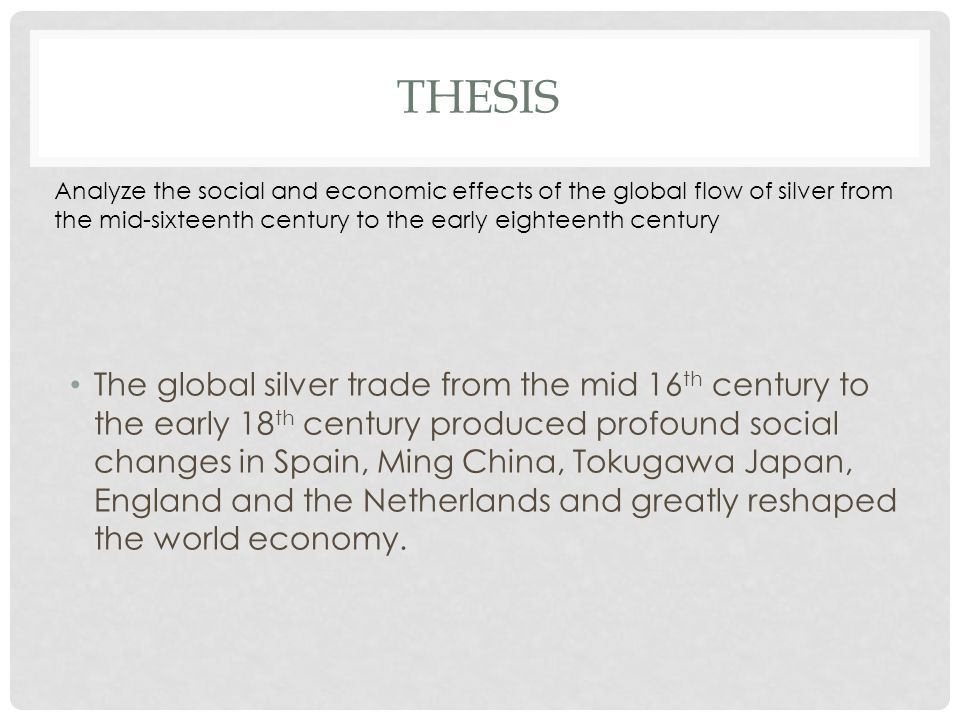 silver trade dbq