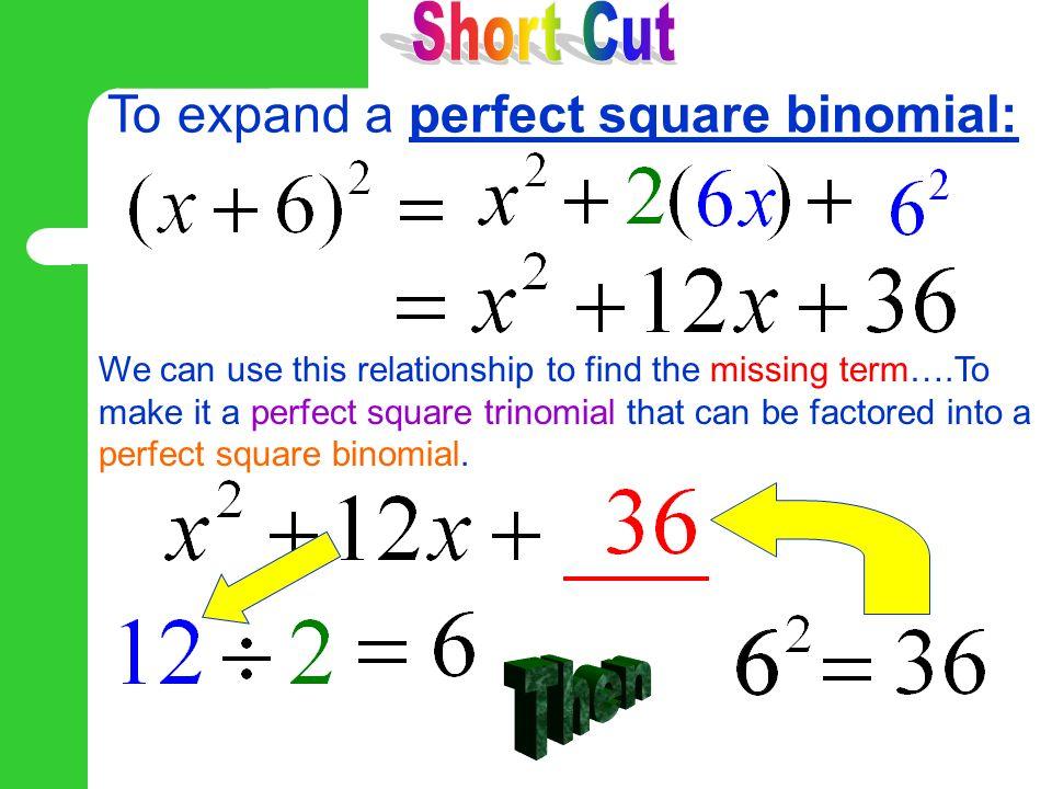 Perfect square trinomial calculator – for some fun with algebra.