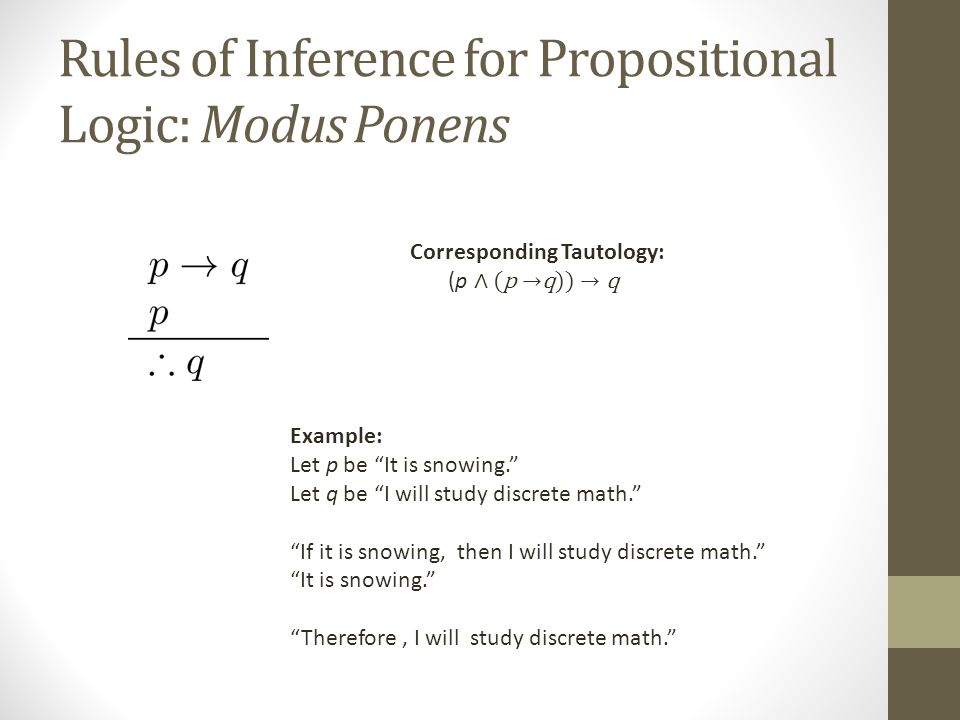Discrete math 1] rules of inference youtube.