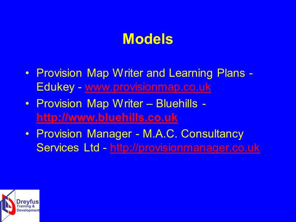 Provision Map Writer SENJIT Models. Provision Map Writer and Learning Plans   Edukey