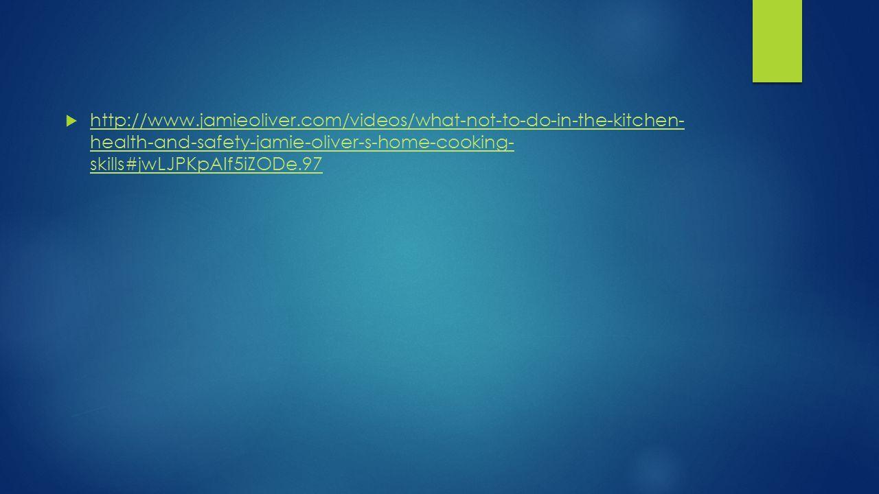 Chapter 7 SANITATION HAZARDS.  health-and-safety-jamie-oliver-s ...