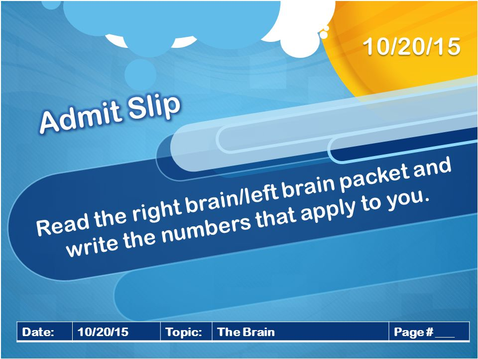 Right brain dating left brain