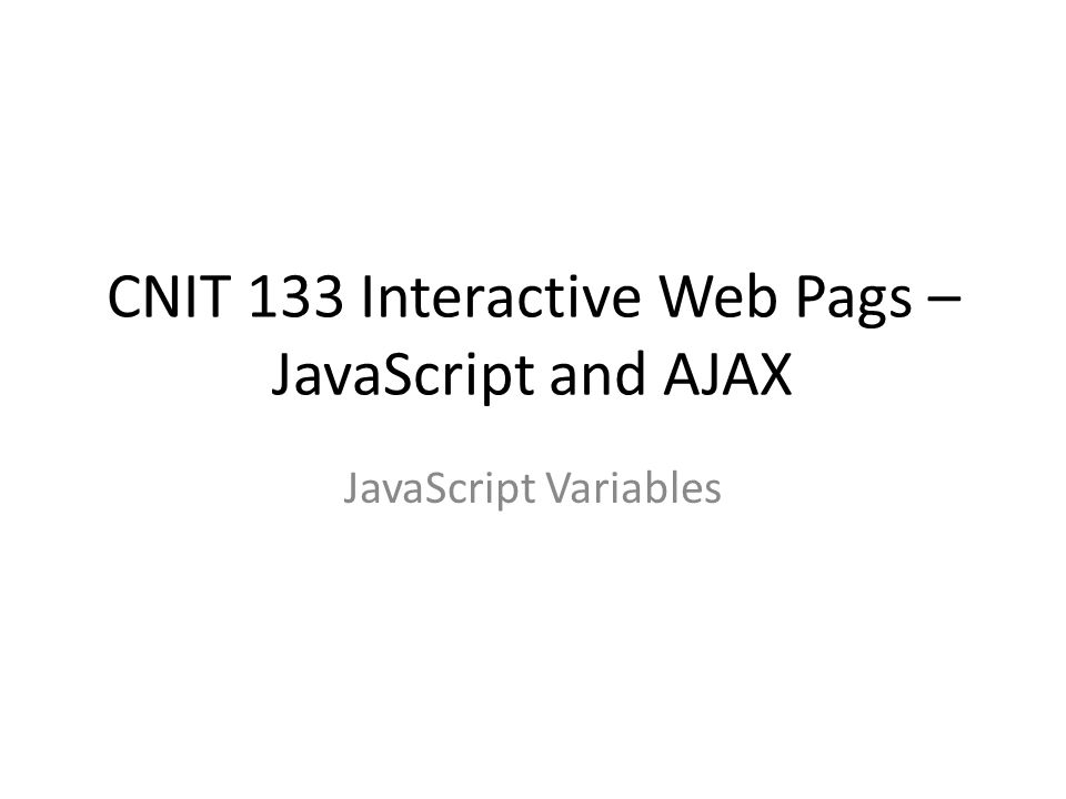 how to assign javascript variable to php variable using ajax