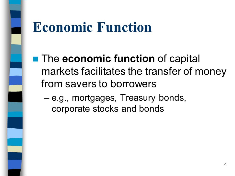 which one is an economic function of money