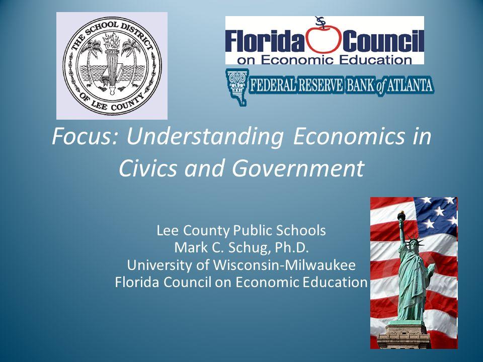 Focus Lee County >> Focus Understanding Economics In Civics And Government Lee
