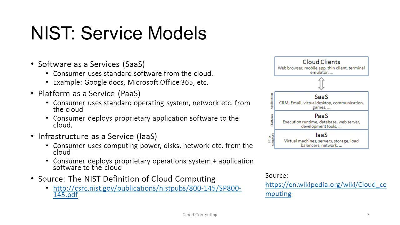 the nist definition of cloud computing Nist special publication 800-145 the nist definition of cloud computing peter mell timothy grance c o m p u t e r s e c u r i t y.