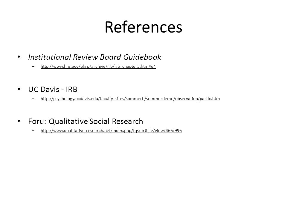deception s second cousin participant observation irb continuing rh slideplayer com institutional review board guidebook 2015 institutional review board guidebook 2015