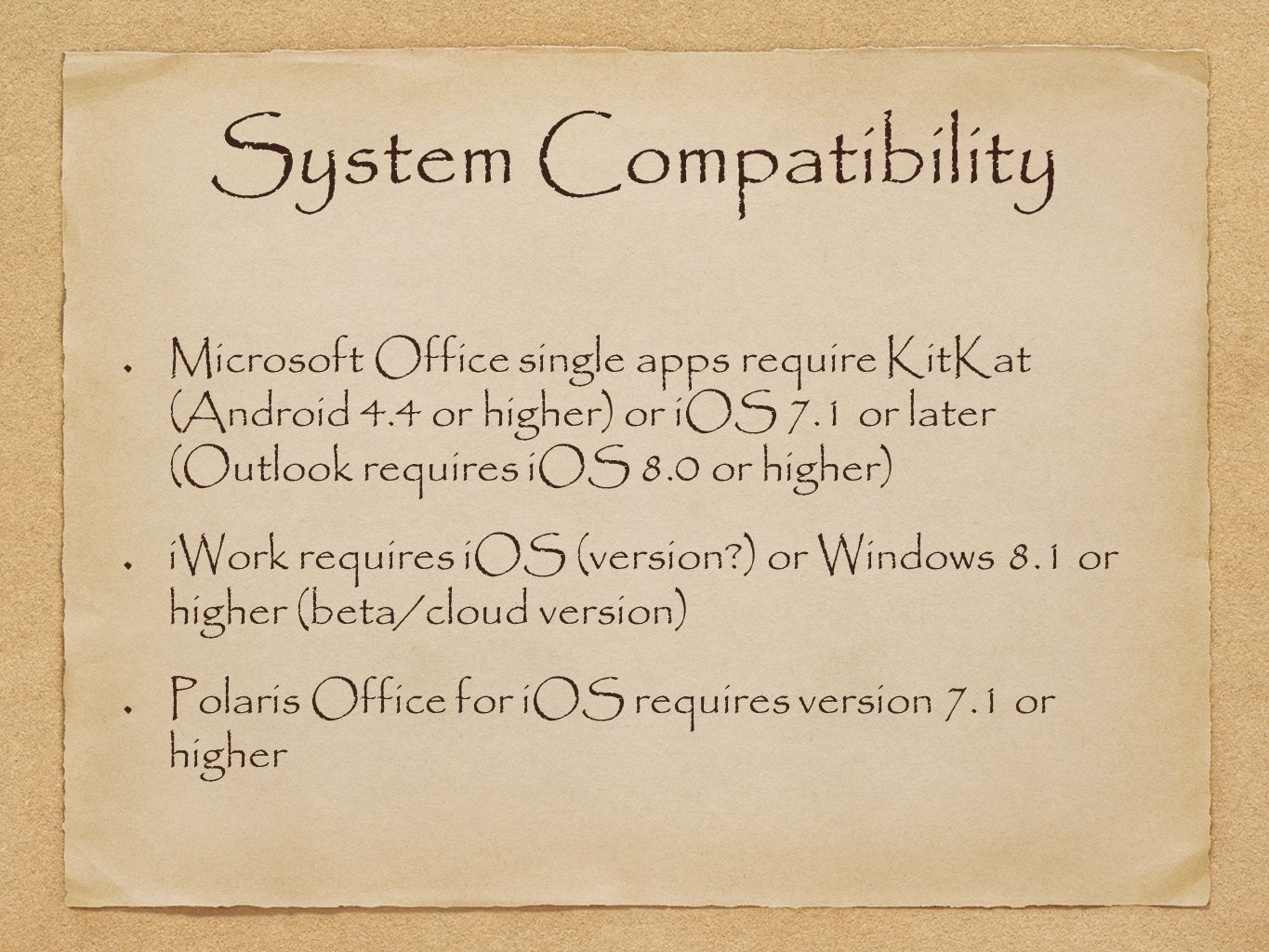 Mobile Office Suites Overview and Comparisons  What is a Mobile