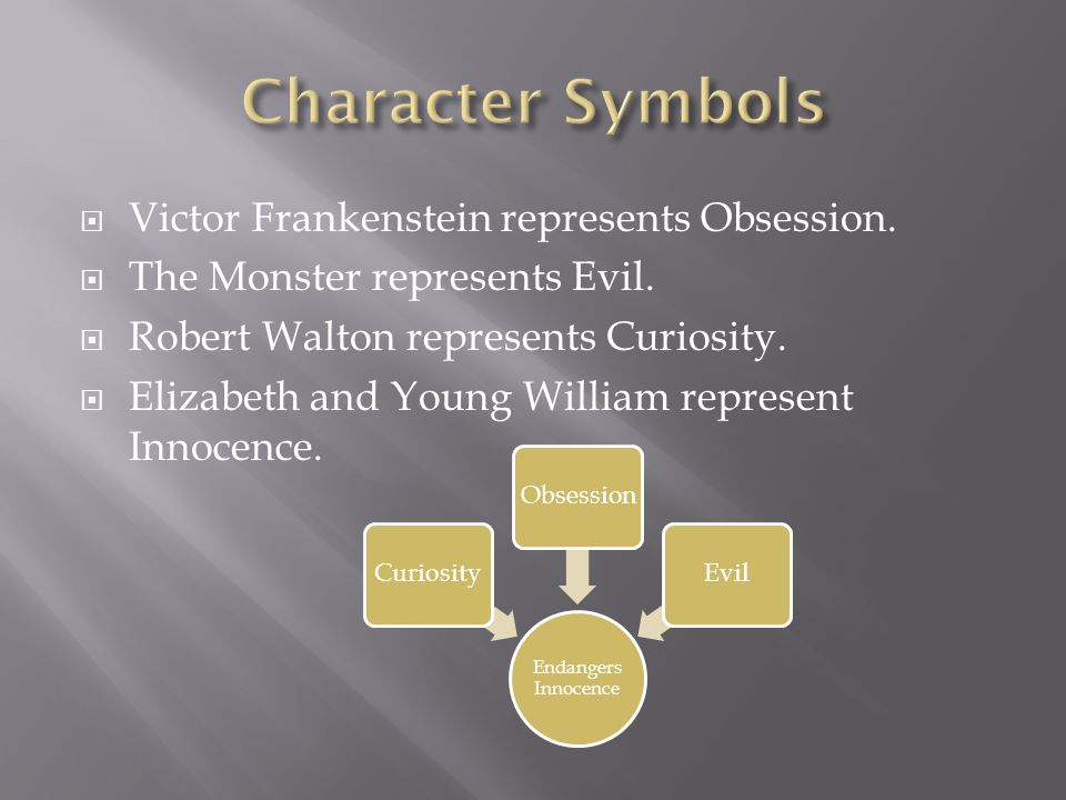 similarities between victor and the monster essay Victor frankenstein is motivated by pride, scientific curiosity, and the hope of healing the human faults to build a huge creature out of corpse parts that becomes so ugly in life that no one can treat this monster with anything but fear and rage.