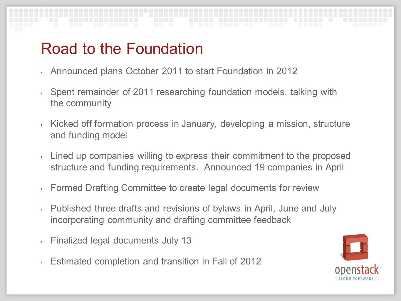 Openstack Foundation Update Boris Ppt Download