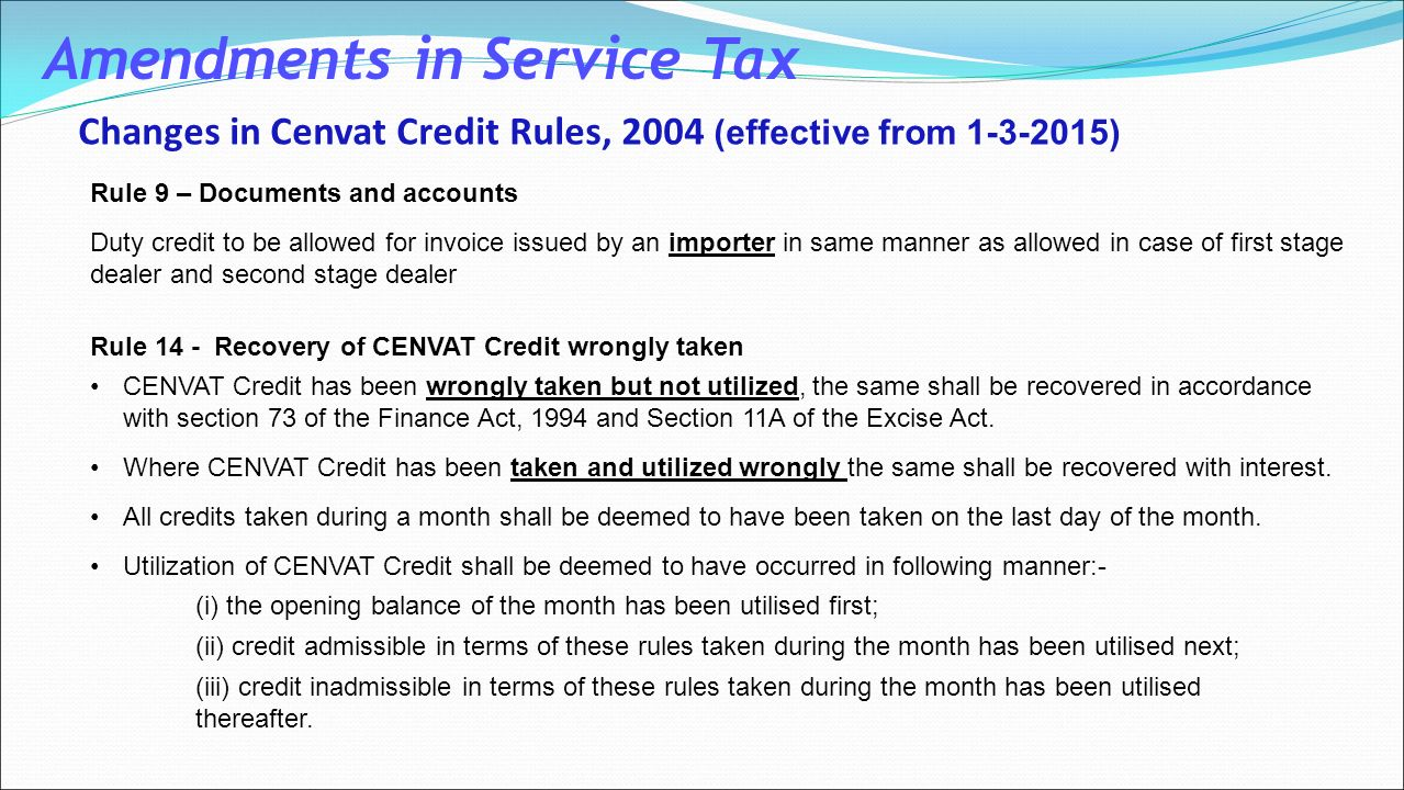 presented by ca jitendra panwar 1 amendments in service tax made