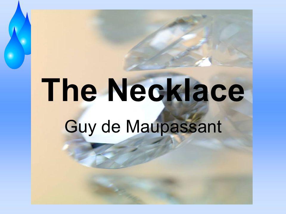 the necklace by guy de maupassant conflict