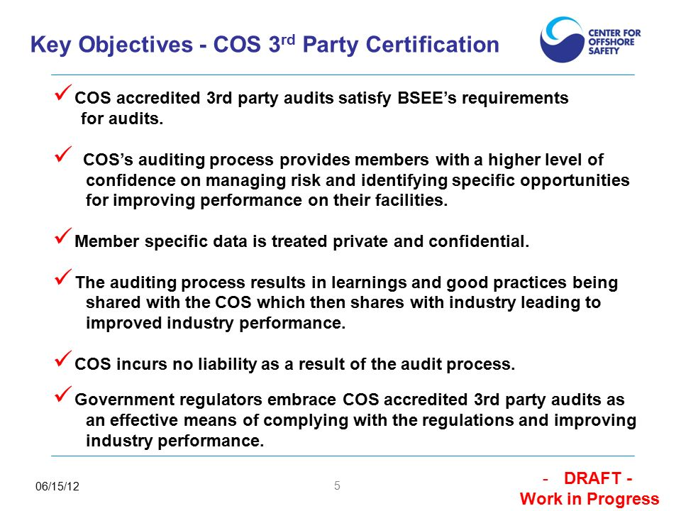 1 3 Rd Party Certification Process Overview Presented To Houston