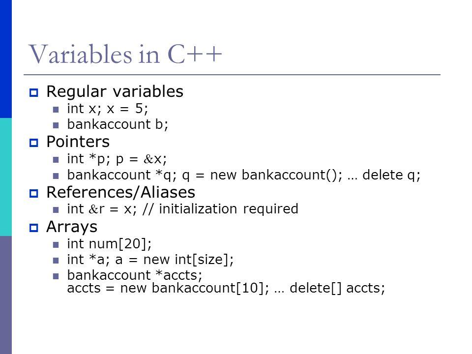 Programming Languages and Paradigms C++  C++ program