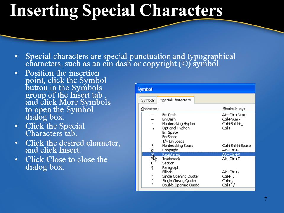 1 Chapter 8 Inserting Elements And Navigating In A Document Ppt