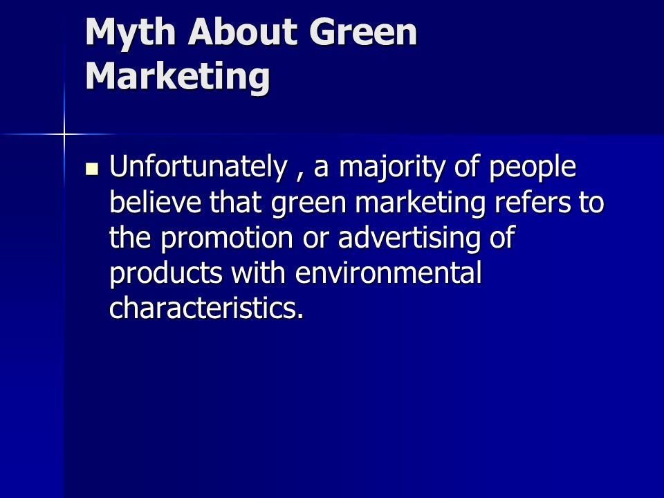 Green Marketing: A new Revolution Presented by Presented by