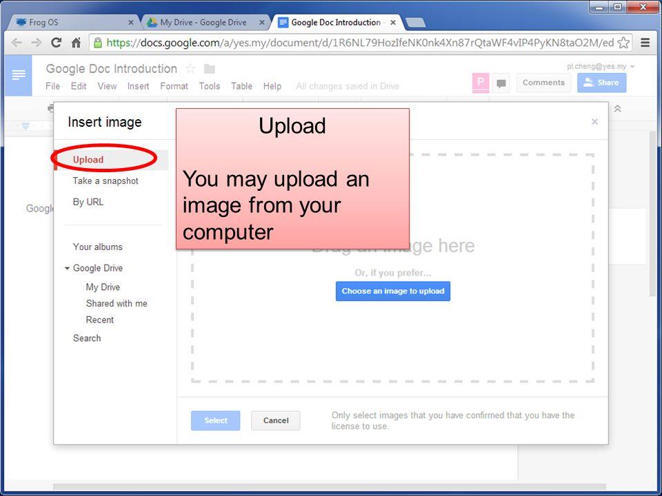 Quick Launch  Google Drive 30 GB Cloud Space Document  - ppt