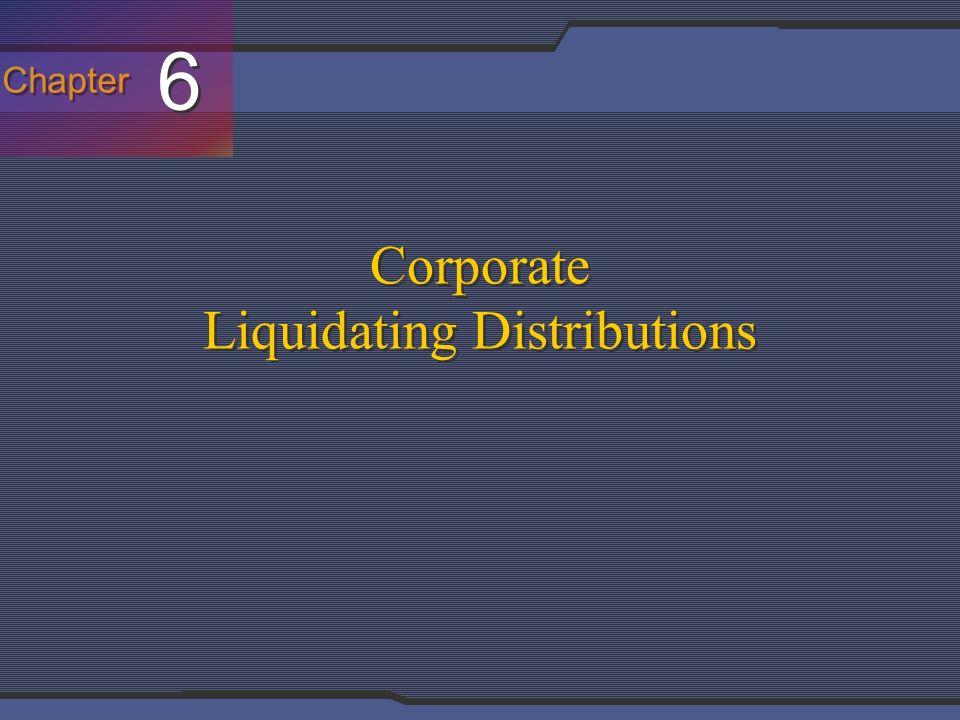 Liquidating corporation